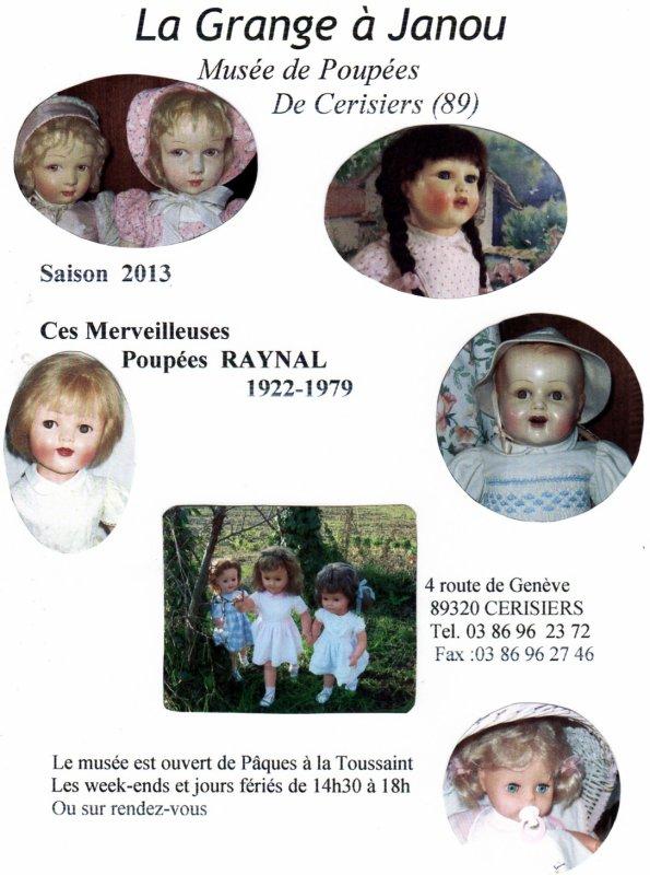 Exposition poupées Raynal