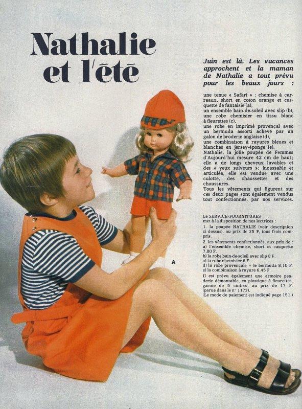 Nathalie de la revue Femmes d'Aujourd'hui