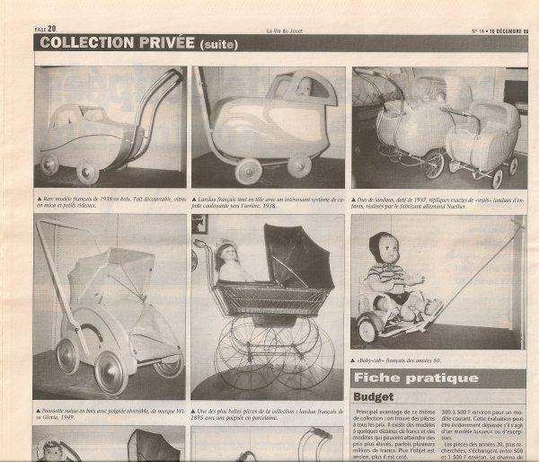 La vie du jouet . Décembre 1996