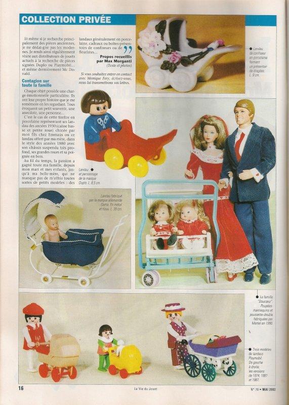 La vie du jouet  . Mai 2002