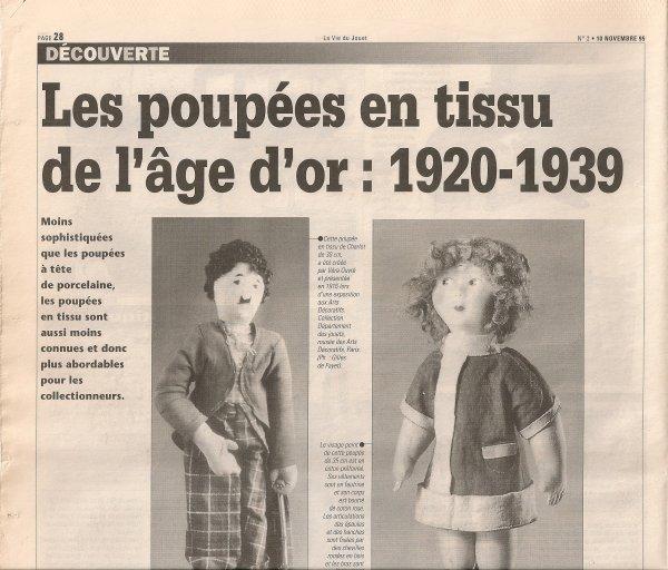 La vie du jouet  de Novembre  1995