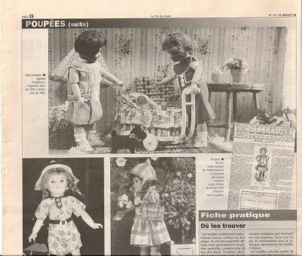 La vie du jouet  juillet -aout 1996