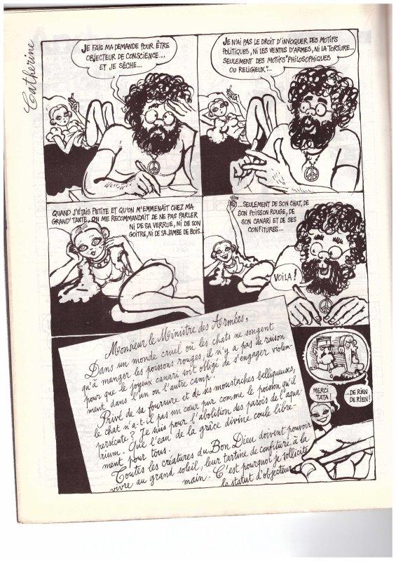 Cabu 1976 (mensuel Charlie )