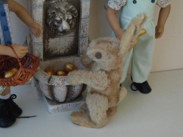 Rencontre avec le lapin de Pâques