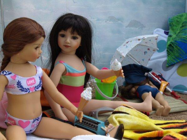 Un après midi à la plage