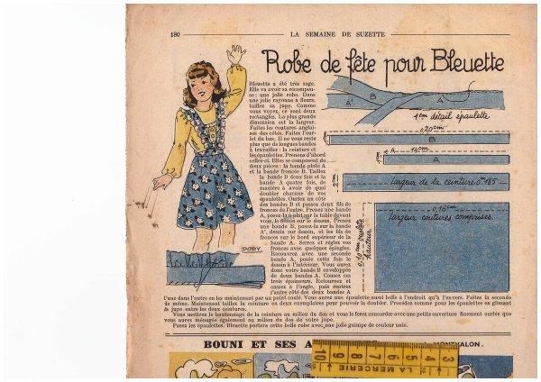 Patrons Bleuette