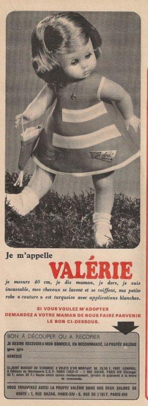 Lisette et Valérie  de la revue Lisette