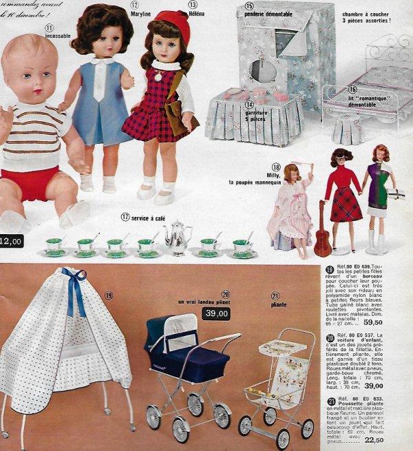 Catalogue les 3 suisses de l'hiver 1966/1967