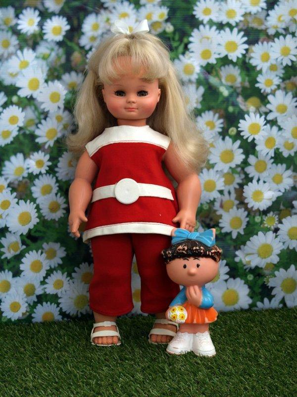 Paloma , poupée Clodrey 1967