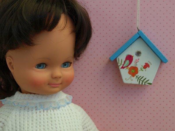 Christelle (?),poupée Clodrey 1968