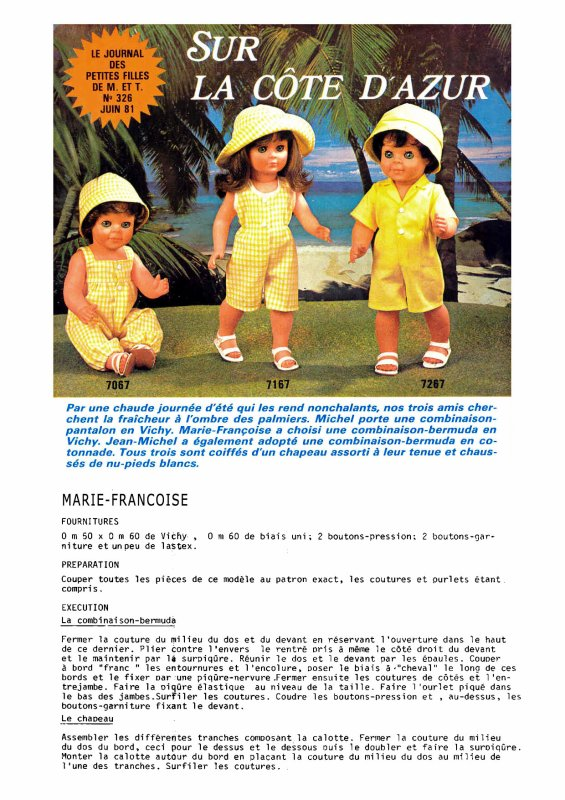 Tenue M&T de juin 1981