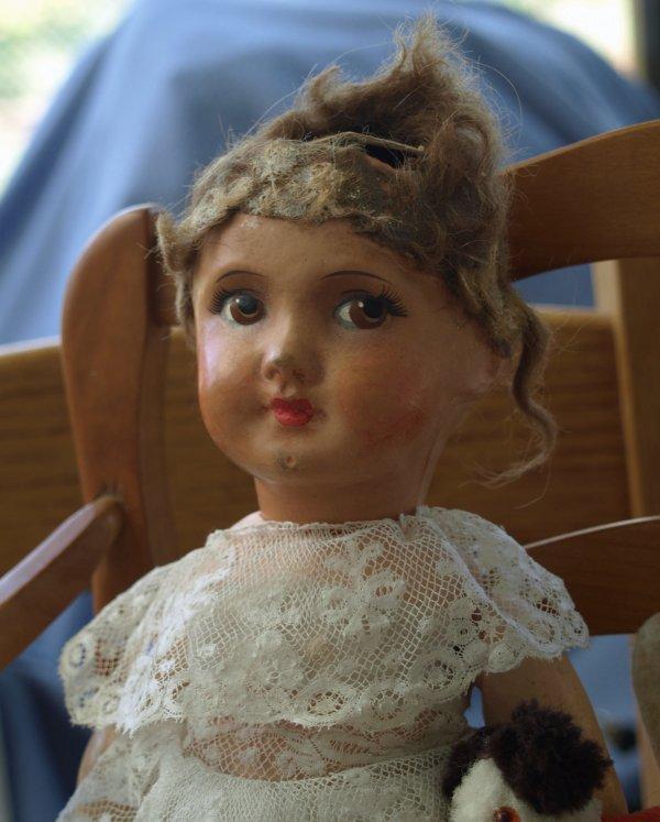 Restauration de poupée