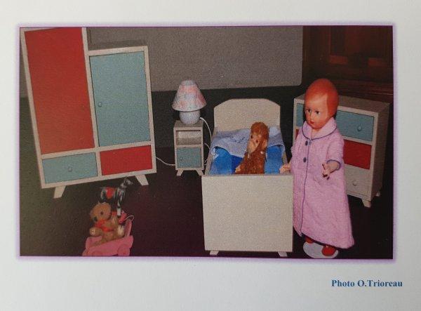 Chambre de Mars 1959 et armoire de novembre 1957