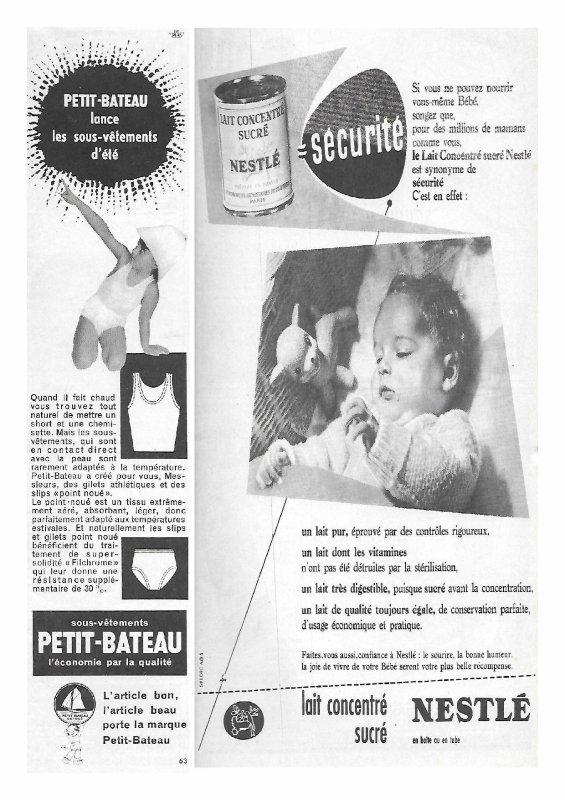 Revue Modes Et Travaux juin 1955