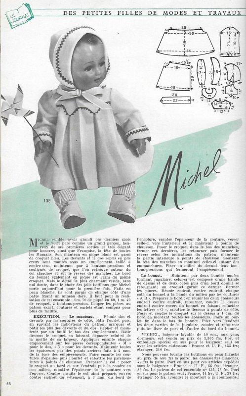 Tenue juin 1955 Michel