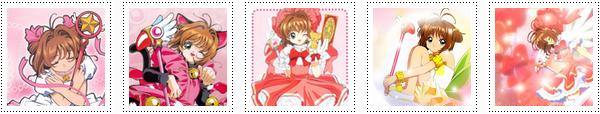Générique de début de sakura et 3 generique de fin  (2011)