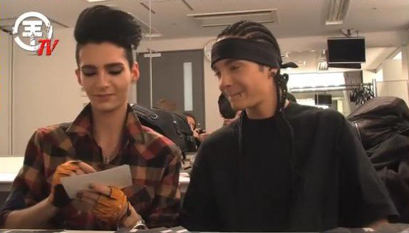 Tokio Hotel TV - Tokio Hotel à Tokyo !