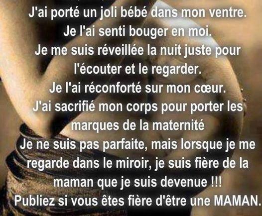 fiere d etre maman!!!!!!!!!!!!!!!!