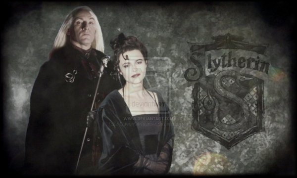 Lucius &  Bellatrix - The Slytherin by queenofheart