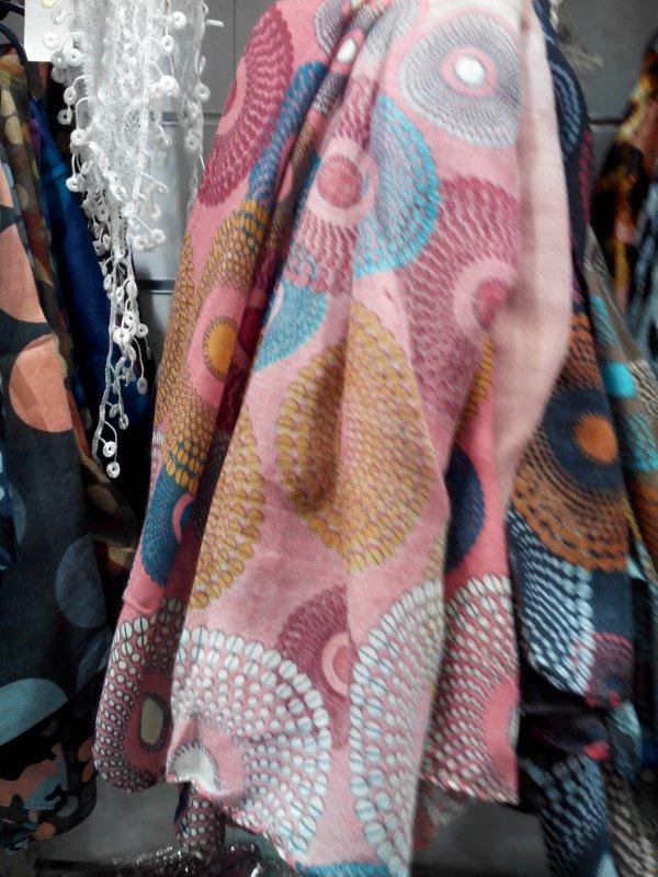 echarpes a vendre differentes coloris