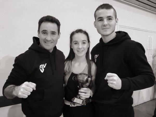 Boxing club Tain Tournon : boxe française : Lucile Vergne qualifiée pour le championnat de France jeune.