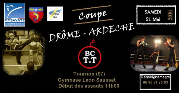 COUPE DRÔME ARDÈCHE CADET/ADULTE 2016