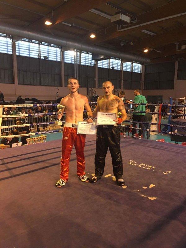 Les bons résultats du Boxing-Club Tournon Tain a la coupe de France de Full Contact.