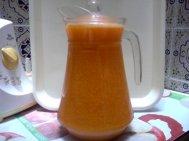 Jus de carotte et d'orange