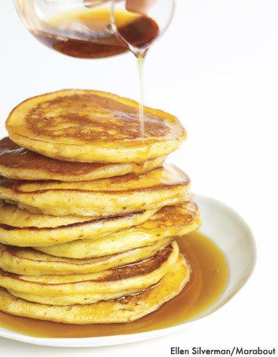 Ma Recettes Préférée les célebres Pancakes  Américains.....MIAM! MIAM!