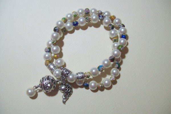 La nacre et les perles cloisonnées