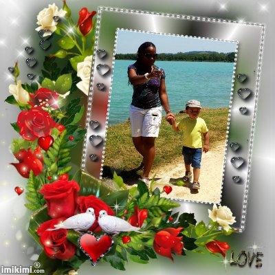 mon fils  sa femme et mesbb d amour