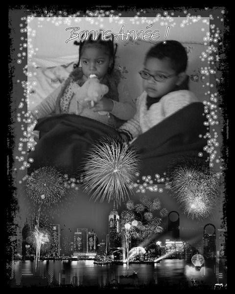 Je te souhaite une bonne et heureuse année qu'elle t'apporte joie bonheur amour et surtout la santé