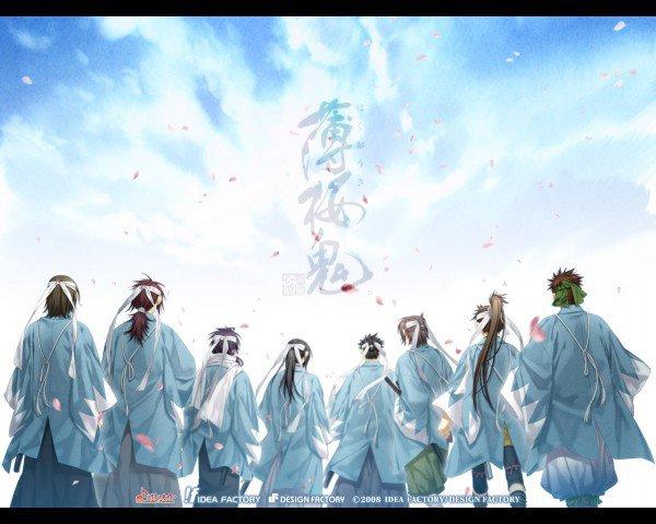 Otome game & Anime : Hakuouki