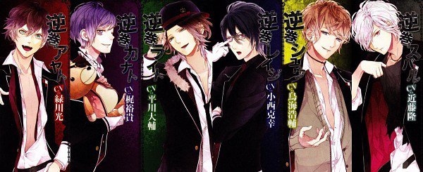 Otome game & Anime : Diabolik Lovers
