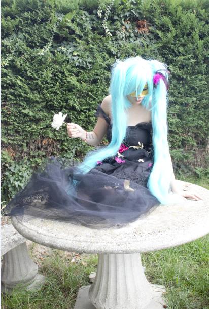 hatsune miku robe crée par moi.
