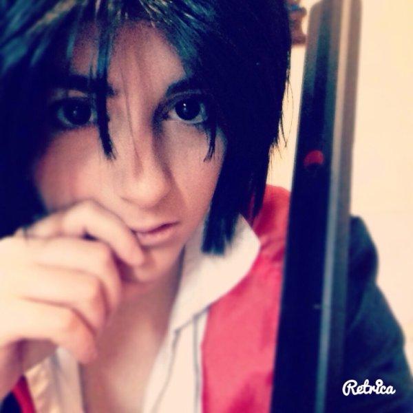 Cosplay sasuke avant le vrai shooting photo