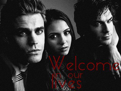 Welcome in our lives