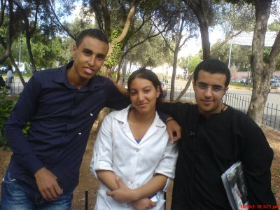 yahya et soumia and  me