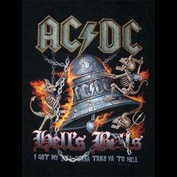 t-shirt AC DC Hell s Bells