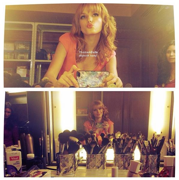 Nouvelle photo twitter de Bella du 03 juin 2013 .