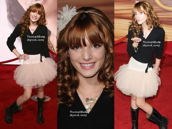 Bella et le cast de Shake It Up réunies le 16 novembre 2010 pour l'avant première de Tangled TwoSome .