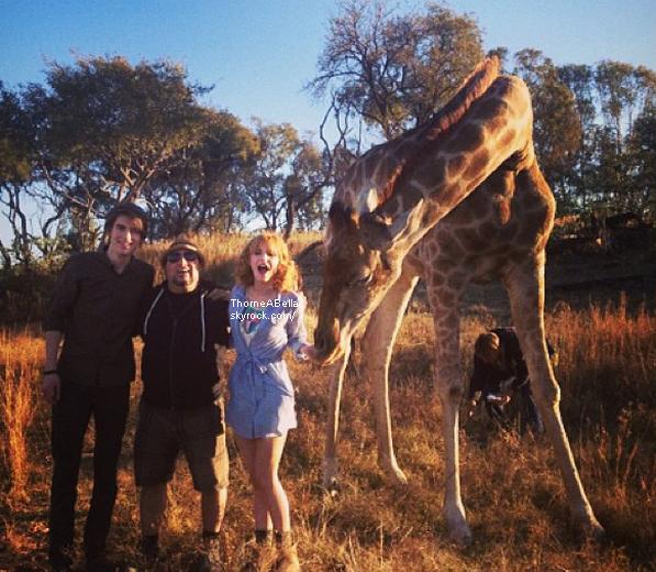Nouvelles photos de Bella en Afrique du Sud le 15 juin 2013 .