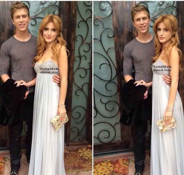 Bella et Tristan à la 15ème cérémonie des Oscars le 2 mars 2014 .