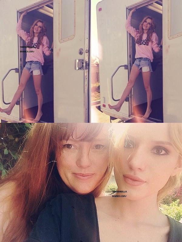 Bella au festival de Coachella le 19 avril 2014.