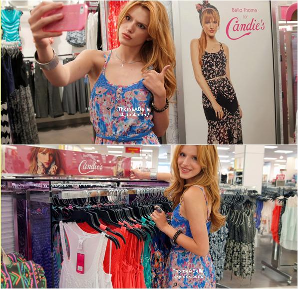 Le 4 mai , Bella faisait du shopping dans le magasin Kohl's pour Candid's . Bella était était resplendissante , gros TOP !