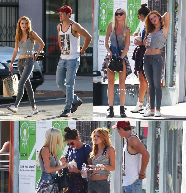 Le 24 août 2014,Bella à été aperçu faisant quelques achats à Melrose accompagnées de quelques amies.