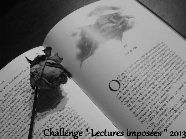 Challenge Lectures imposées 2013 ( TERMINÉ )