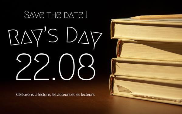 Ray's Day 2015 : une journée pour partager son amour de la lecture