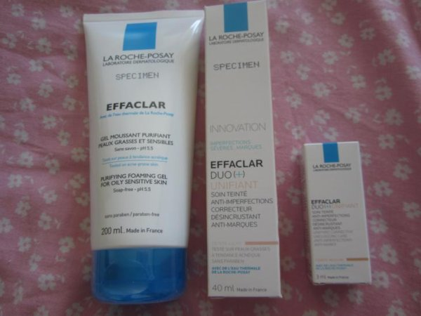 LA ROCHE-POSAY - 2 soins visage Effaclar