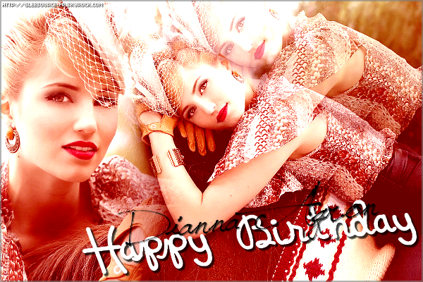 30th April 2011  Happy Birthday Dianna. ♥
